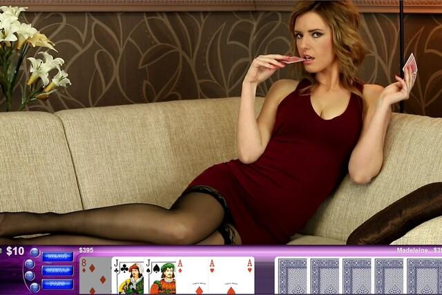 Strip poker orgasm denial game